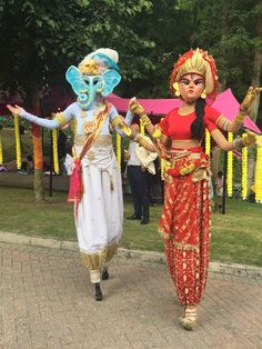The best stilt walkers to hire, including Boxing Kangaroo Stilt Walkers, Forest Fairy Queens Stilt Walkers for all types of events - so many diverse Stilt Walkers for hire who will make your event stand out! Stilt Costume, Diwali Party, Bollywood Party, Fairy Queen, Carnival Themes, Forest Fairy, Durga, Wild Hearts, Ganesh
