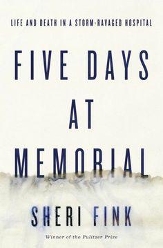 Five Days At Memorial / Sheri Fink http://jaspercat.manhattan.edu/cgi-bin/koha/opac-detail.pl?biblionumber=980203