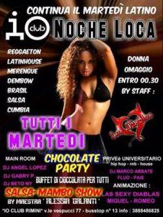 Noche Loca all'Io Club Rimini