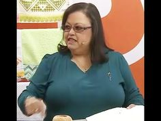 Ponto reto em toalha de lavabo com Leila Jacob | Vitrine do Artesanato n...