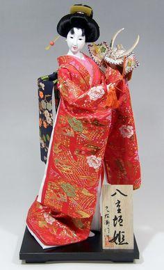 【日本人形】K1014-1「八重垣姫・赤」【楽ギフ_包装】【楽ギフ_のし宛書】【楽天市場】