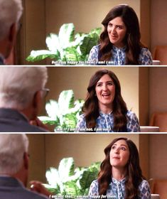 """Me when other people are happy: 13 Things Janet From """"The Good Place"""" Has Said That When Taken Out Of Context, Really Resonate With Me Movies Showing, Movies And Tv Shows, Nbc 4, Everything Is Fine, Parks N Rec, Tv Quotes, Best Shows Ever, Best Tv, Reaction Pictures"""