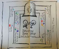 We had a slightly less packed meeting to discuss the other worldly Third Policeman, the ending of Lost and why it's always important to pay attention to what's inside the box. Book for next. Inside The Box, Brixton, Pay Attention, Hope You, Third, Doodles, Lost, Sea, Group