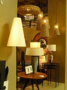Mesas y Lámparas : Lámparas de Colgar, de Pié y de Mesa  Mesas en hierro, chapa y madera | concretoarttigre
