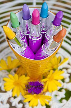 ♥ ♥ ♥ A bouquet for you ♥ ♥ ♥ http://www.limecrimemakeup.com/categories/lipstick/