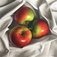 View Nested Macs by Michael Naples on artnet. Browse more artworks Michael Naples from Susan Powell Fine Art. Apple Painting, Fruit Painting, Fruit Photography, Still Life Photography, Naples, Apple Festival, Watercolor Fruit, Watercolor Painting, Apple Art