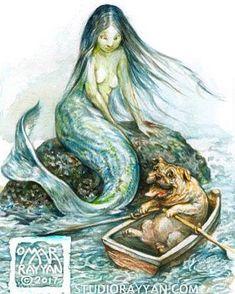 Omar Rayyan  -  Mermaid and Pug