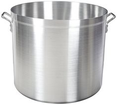 Adcraft H3-SP100 100 qt Aluminum Stock Pot with Reinforced Top Rim * You can get more details here : Steamers, Stock and Pasta Pots