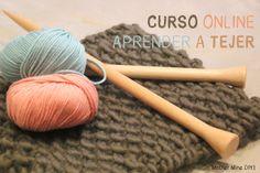 Curso online gratis APRENDER A TEJER CON DOS AGUJAS (Cap 3) Puntos básicos - Oh, Mother Mine DIY!!