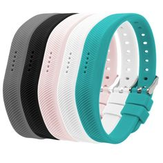 HUMENN Bands for Fitbit Flex Classic Silicone Fitness Replacement Accessories Wrist Band for 2016 Fit bit Pack of Buckle Design Smart Bracelet, Fitbit Flex, Fun Workouts, Watch Bands, Color Mixing, Fit Bit, Classic, Bracelets, Fitness