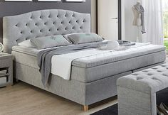 Boxspring-Bett, Home affaire, »Claire«
