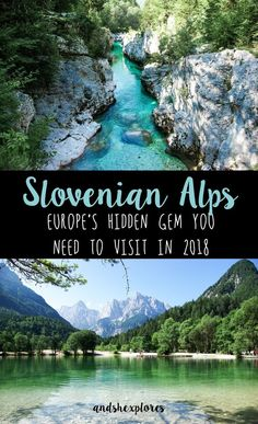 Alps, Slovenia What's the best thing about Slovenian Alps? Everything is so close and the nature is mesmerizing. A perfect summer getaway when you get tired of crowded beaches and the city heat. If you're in Ljubljana, just rent a car and drive for abou Europe Travel Guide, Travel Guides, Travel Tips, Hiking In Europe, Summer In Europe, Backpacking Europe, Lonely Planet, Cool Places To Visit, Places To Travel