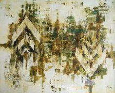 """Saatchi Art Artist Jessica Founeau; Painting, """"Golden Earth"""" #art"""