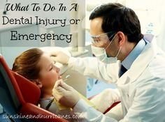 What TO Do in a dental injury or emergency Do you know how to handle a broken permanent tooth in our child? sunshineandhurricanes.com