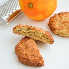 Roomboter Amandelmeel Koeken met Sinaasappel & Dadels