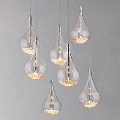 John Lewis Sebastian 7 Light Drop Ceiling Light