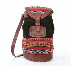 Southwestern Bucket Bag.