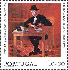 Buy online, view images and see past prices for Portugal: 1975 Fernando PESSOA painting um Europa Invaluable is the world's largest marketplace for art, antiques, and collectibles. Postage Stamp Design, Postage Stamps, Rare Stamps, Stamp Collecting, Mail Art, Graphic Illustration, Street Art, Literature, Art Gallery