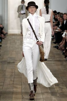 Ralph Lauren Spring 2011 Ready-to-Wear Fashion Show - Frida Gustavsson