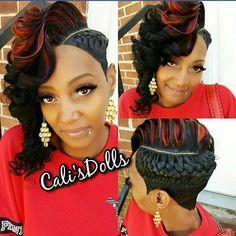FB: Calis Dolls Hairstylist