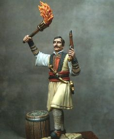 Επανάσταση 1821 - Γεωργάκης Ολύμπιος Samurai, Painting, Art, Art Background, Painting Art, Kunst, Paintings, Gcse Art, Samurai Warrior