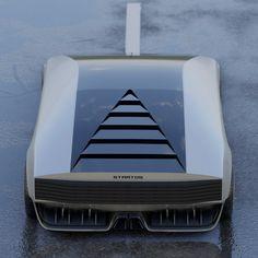 Car Sketch, Transportation Design, Retro Futurism, Future Car, Automotive Design, Electric Cars, Concept Cars, Exterior Design, Cars