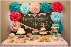 Vintage School Themed 1st Birthday Party! on http://pizzazzerie.com