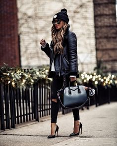 winter outfits night Its Getting Cold In Here- 15 - winteroutfits Mode Outfits, Chic Outfits, Fashion Outfits, Womens Fashion, Swag Fashion, Jeans Fashion, Look Fashion, Fashion Models, Winter Fashion