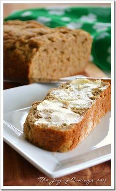 Homemade Hearty Rye Oatmeal Bread | BeBetsy