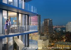 Brickell Heights features two-buildings and is located in the heart of Miami's dynamic Brickell neighborhood at the crossroads of Southwest Street and South Miami. South Miami, South Florida, In Plan, New Condo, Real Estate News, San Francisco Skyline, Luxury Homes, The Neighbourhood, Construction