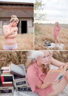 Themed outdoor Boudoir Photography by Megan Welker
