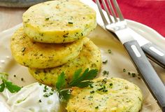 Kräuter-Kartoffelplätzchen mit Gurken-Joghurt-Dip » Einfach Lecker » Rezeptideen für jeden Tag » Rezeptideen für jeden Tag