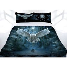 Anne Stokes Awaken Your Magic Owl Quilt Doona Cover Set - DOUBLE QUEEN KING