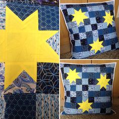 Starry Sky floor cushion Floor Cushions, Sky, Flooring, Quilts, Blanket, Sewing, Heaven, Blankets, Couture
