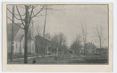 French Flats MIDDLEBURG PA Vintage Snyder Pennsylvania County Postcard