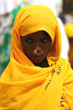 Africa |  Portrait of a woman in Eritrea | © Eric Lafforgue