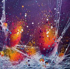 Tuto : peinture semi-abstraite en technique mixte par Cynthia Dormeyer - l'Atelier Géant