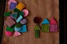 felt shapes game