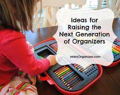 Raising The Next Generation Of Organizers - creatingmaryshome.com