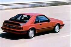 Lost Cars of the 1980s  1984-1986 Ford Mustang SVO