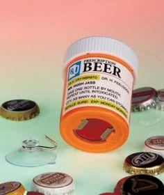 Beer Prescription Humorous Bottle Opener by Lakeside-Serenity