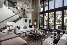 Contemporary single family residence located in Hallandale Beach, Florida, designed in 2018 by 2id Interiors.