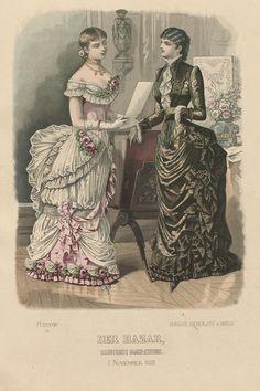919×1382 | 1ce3b8c6773b56c81b4a2415e80bc593.jpg (166%)  TAg: Public Domain; Historical Fashion