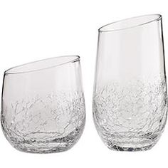 My Pier 1 Crackle glasses are on sale  $3.99