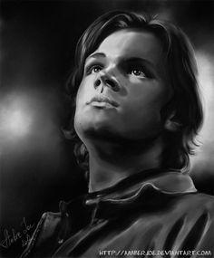 Sam Winchester by AmberJoe on deviantART