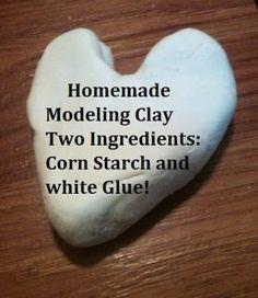 diy modeling clay