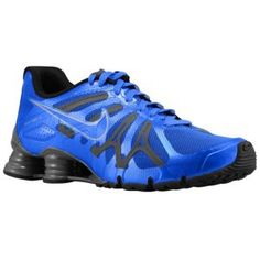 Nike Shox Turbo+ 13 - Men\u0026#39;s - Running - Shoes - Signal Blue/Dark Grey