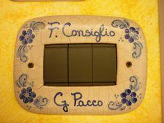 Placche in ceramica per interruttori - Palermo Palermo