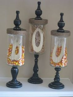 How to make your own apothecary jars... since I can't find any that I like!