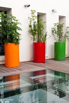 100 Beautiful Diy Pots And Container Gardening Ideas 7 Backyard Garden Landscape, Small Backyard Gardens, Modern Backyard, Large Backyard, Backyard For Kids, Indoor Garden, Outdoor Gardens, Garden Pallet, Roof Gardens